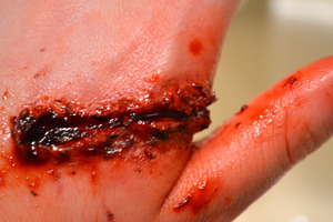 Special FX cut on the hand #2
