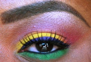 RASTA with a touch of purple!!