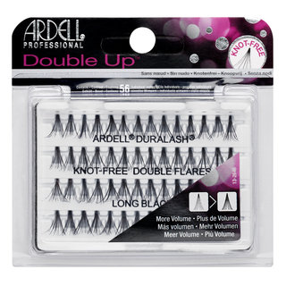 Double Up Individuals Knot-Free Lashes Long Black