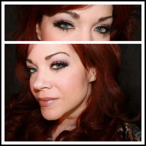 A soft smoky eye paired with some Crystal Light Grey contact lenses ♥  To see the full blogpost, please visit:  http://www.vanityandvodka.com/2016/06/enhancing-your-makeup-with-lenses.html