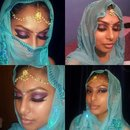 asian bridal look