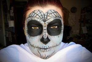 Sugar skull. A bad one. I might be going mad.