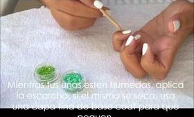 cupcakes nails (español)