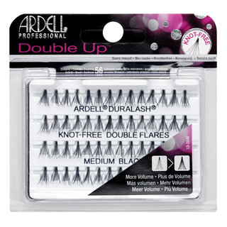 Double Up Individuals Knot-Free Lashes Medium Black
