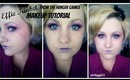 Effie Trinket from The Hunger Games makeup tutorial