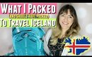 ICELAND PACKING LIST for WINTER: What to pack to Iceland & What I SHOULD HAVE packed for Iceland!