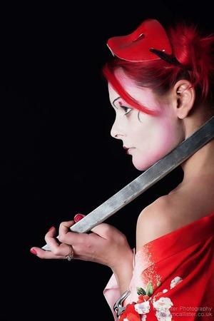 Neo Geisha shoot with Stuart Mcallister Photography