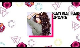 NATURAL HAIR UPDATE ! AND NATURAL HAIR MOTIVATION