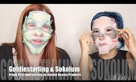 Trying Asian Beauty Products with Goldiestarling