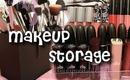 Affordable Makeup Storage
