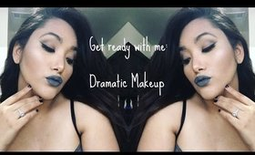 Get Ready With Me - Dramatic Makeup - BeautyWithConnie