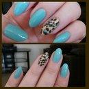 Tiffany leopard
