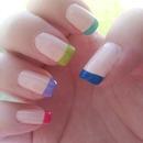 Colourful Nail Tips