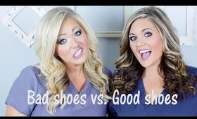 Nursing Shoes! Our FAVS AND FLOPS!