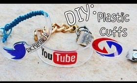 ♡DIY: School Pride Plastic Cuffs {Back To School}
