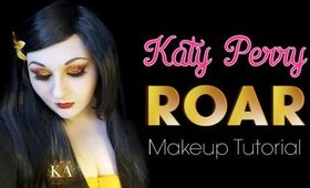 Katy Perry's Roar Inspired Makeup Tutorial