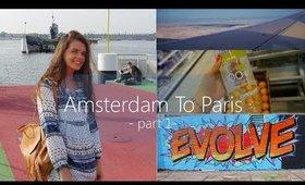 AMSTERDAM TO PARIS: Part 1 | Dillon Alexandra