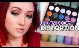 NEW Urban Decay Distortion Palette- First Look and OMG DUOCHROMES