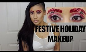 QUICK AND EASY: FESTIVE HOLIDAY MAKEUP TUTORIAL