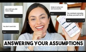 ANSWERING YOUR ASSUMPTIONS ABOUT ME! - TrinaDuhra