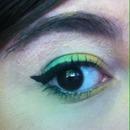 Easter eye makeup