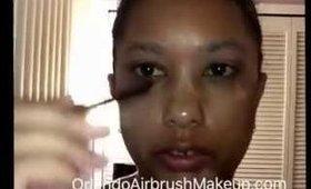 Orlando makeup artist cat eye winged eyeliner for wrinkles skin