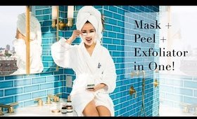 Mask + Peel + Exfoliator in One! | One of the Best Facial Masks