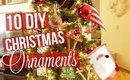 10 DIY KIDS CHRISTMAS ORNAMENTS | SCCASTANEDA
