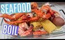 How To Make A Seafood Boil At Home + Sauce