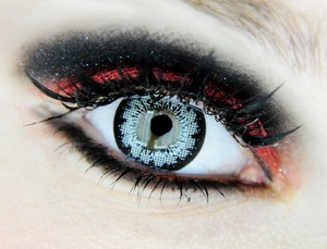 EOS Candy Doll Grey lenses