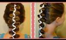 French (Dutch) Loony Ribbon Braid, Cute Hairstyles, Hair4MyPrincess