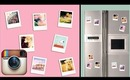 DIY Instagram/Polaroid magnets!! Super simple UNDER 2$