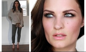 DAY TO EVENING - OUTFIT & FACE OF THE DAY