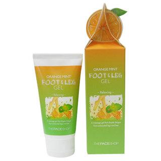 The Face Shop Orange Mint Foot and Leg Gel