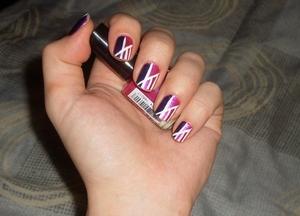 NOTD;; Fuschocking!  Blog post here: http://rivuletsbeauty.blogspot.com/2011/11/notd-fuschocking.html