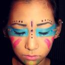 Native American Theme Tribal Makeup