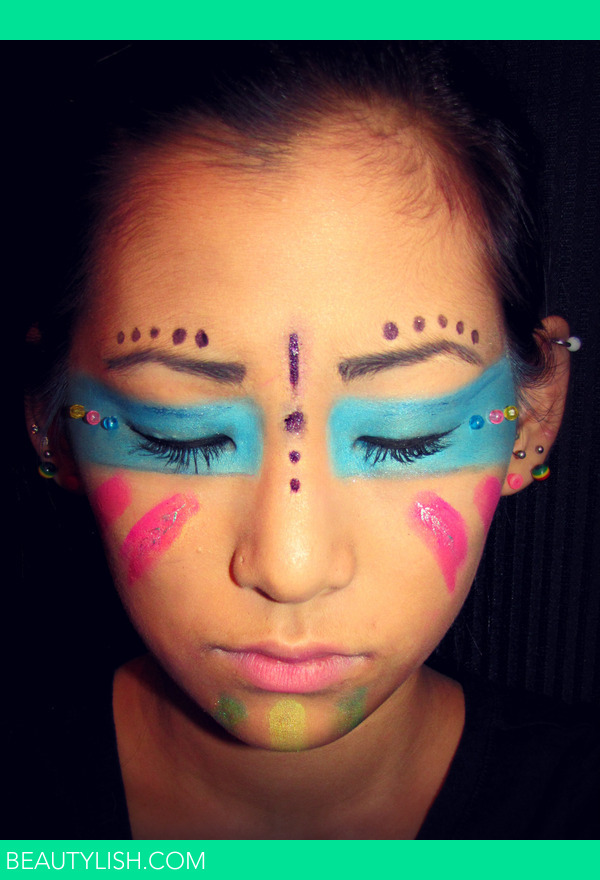 Native American Theme Tribal Makeup Emmallyn B S Photo Beautylish