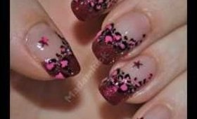 SUPER easy Leopard Print Nail Art Tutorial + update at end