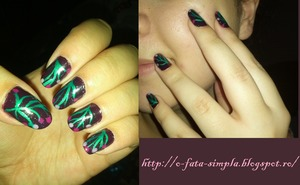 See the nail polishes I used on my blog: http://o-fata-simpla.blogspot.ro/