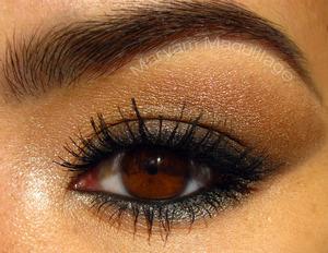 Smoldering Shimmery Smokey eye using NAKED 2 http://www.maryammaquillage.com/2012/02/hot-morange-naked-2-cool.html