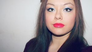 An 80s inspired look I did for a Youtube tutorial.