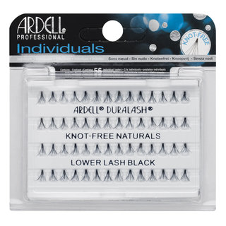 Individuals Knot-Free Natural Lashes Lower Lash Individuals Black