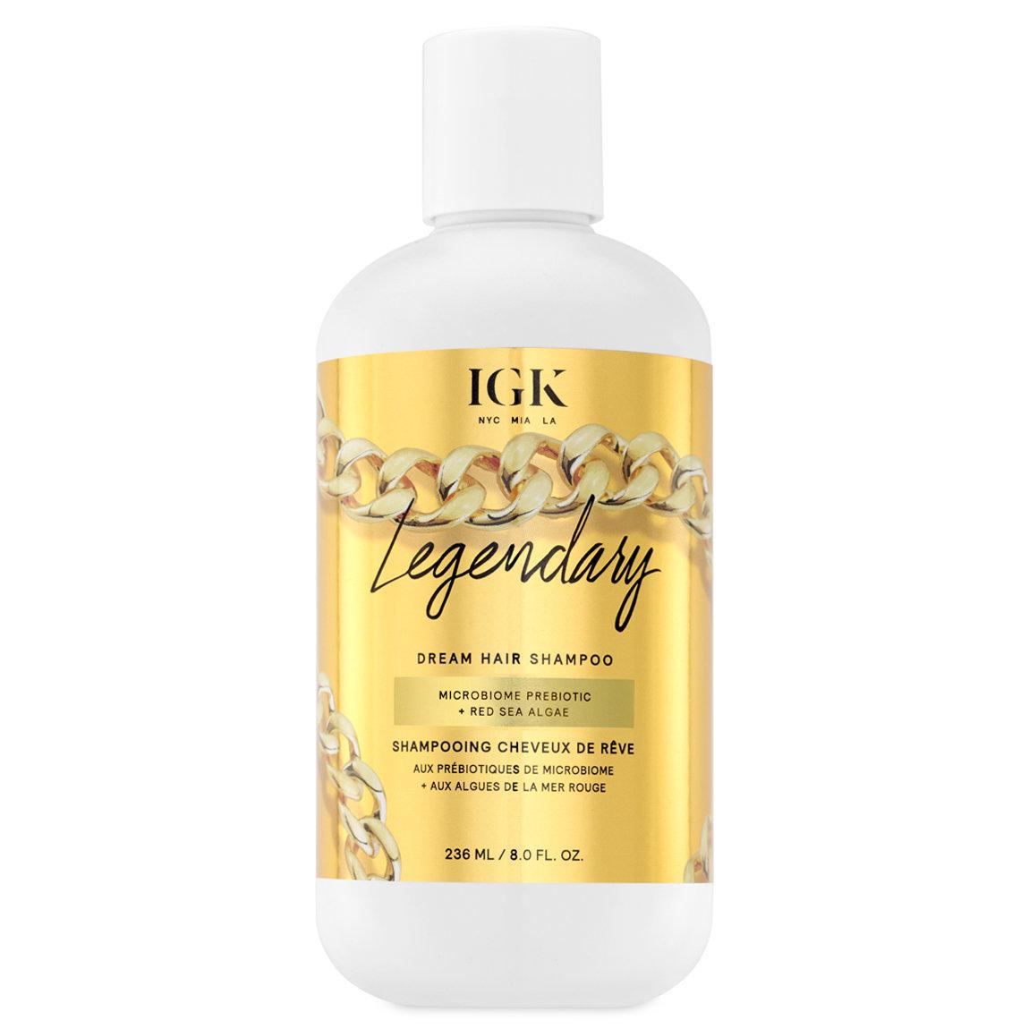 IGK Legendary Dream Hair Shampoo alternative view 1 - product swatch.