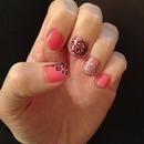 Pink,Glitter and Leopard Print
