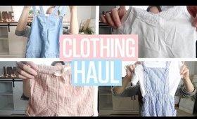 BACK TO SCHOOL CLOTHING HAUL   H&M HAUL