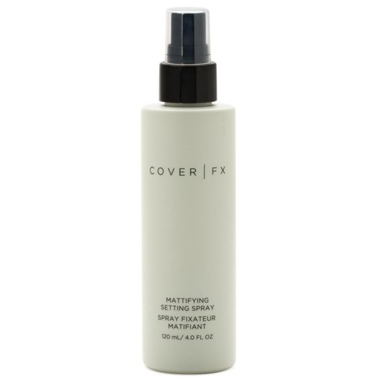 Cover FX Mattifying Setting Spray product smear.