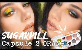 SUGARPILL Capsule 2 Orange Edition  | Two Looks + Review