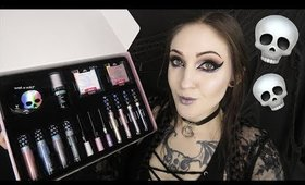 GOTH-O-GRAPHIC | Review | Swatches | TRY ON!!