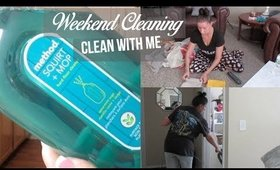 After The Weekend //Cleaning Routine //Clean With Me //Speed Clean