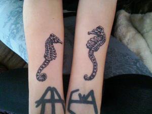 My newest tattoos!!!!! <3